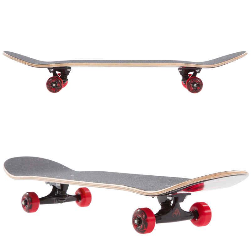 """Darkstar Ultimate 7.625"""" Complete-Skateboard (rasta)"""