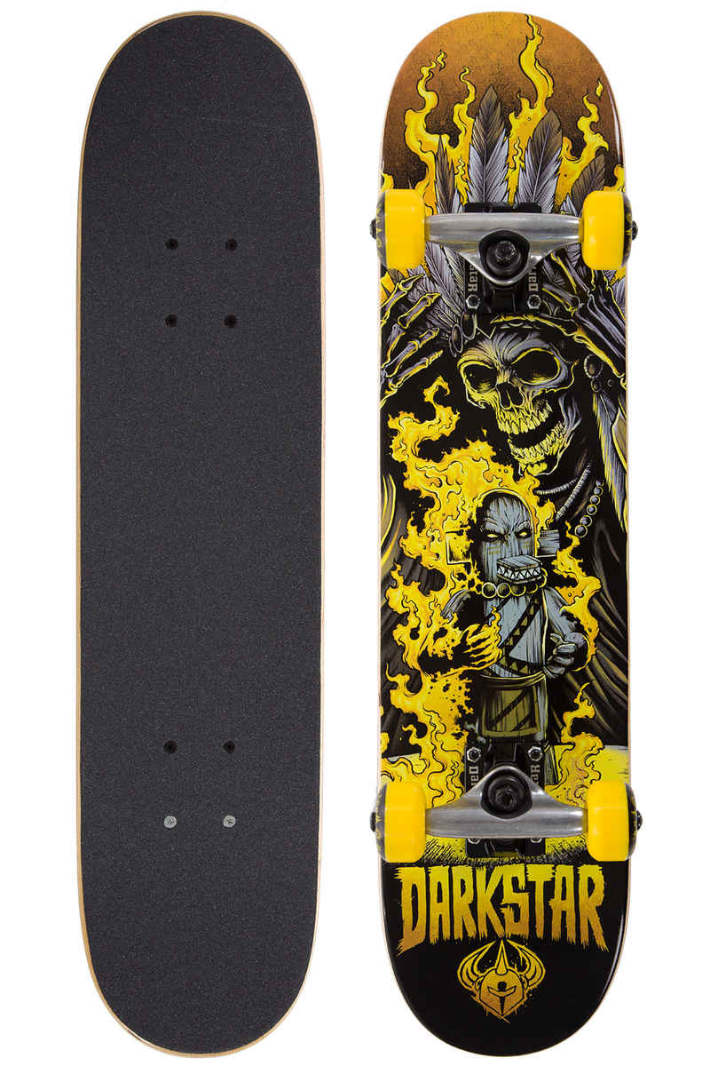 "Darkstar Torch Micro 6.75"" Complete-Board kids (yellow)"