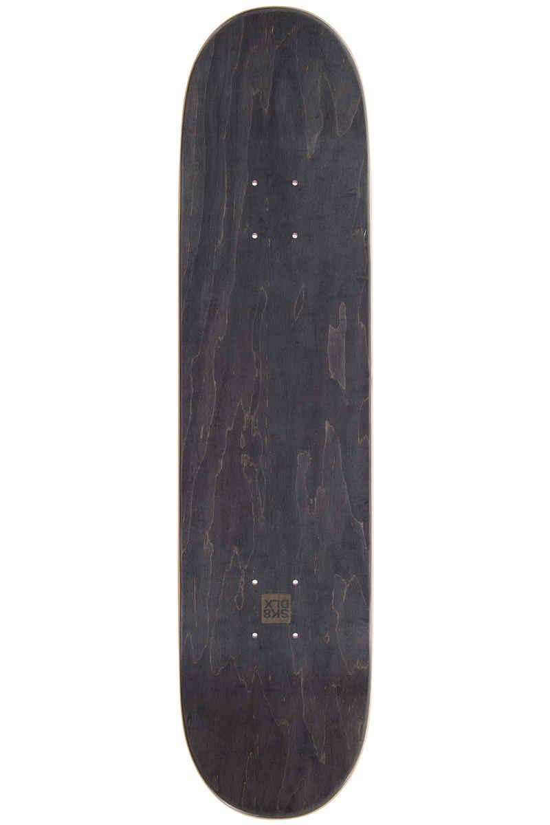"SK8DLX Stripe Series 7.75"" Planche Skate (red)"
