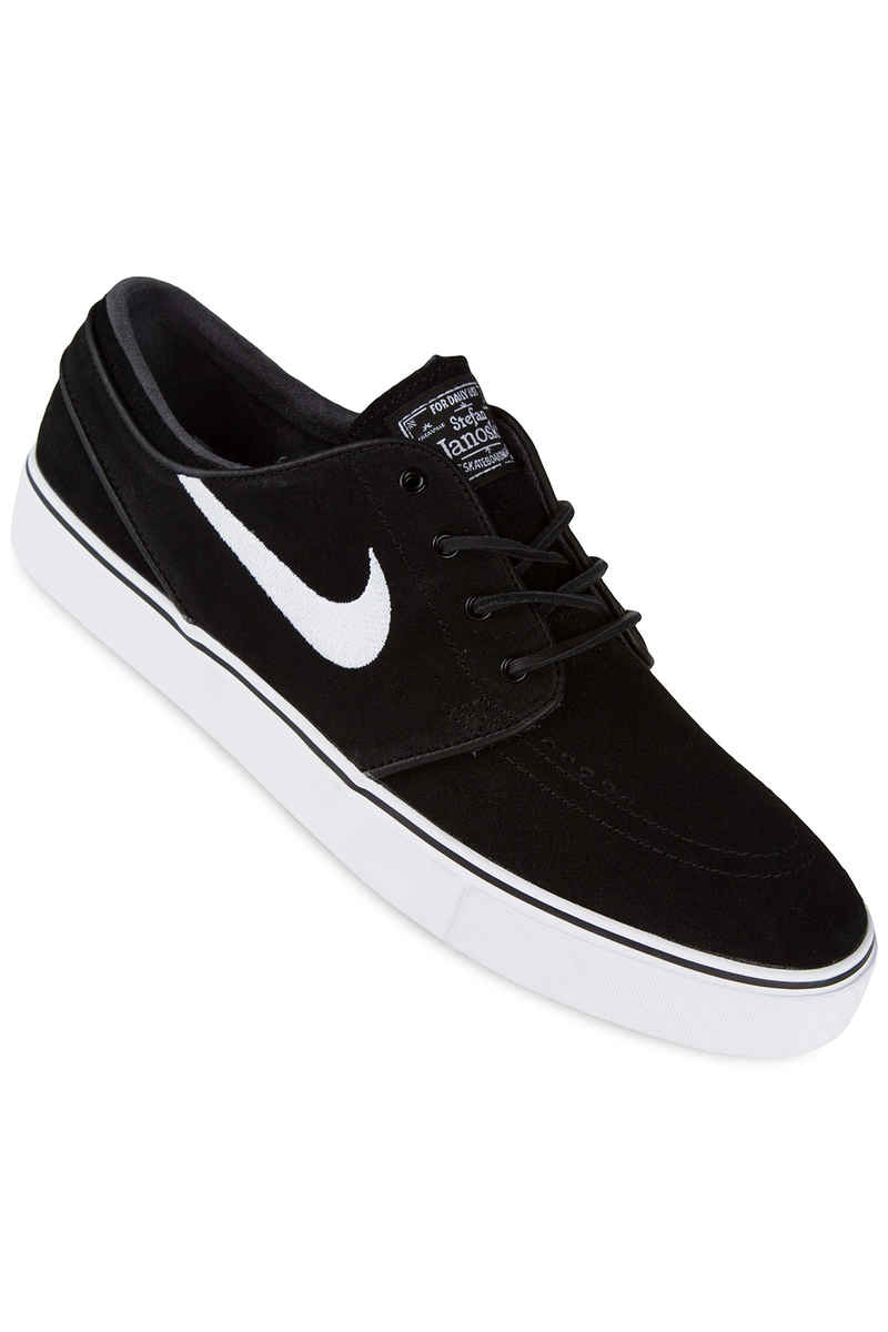 Nike SB Zoom Stefan Janoski OG Schoen (black white gum light brown)