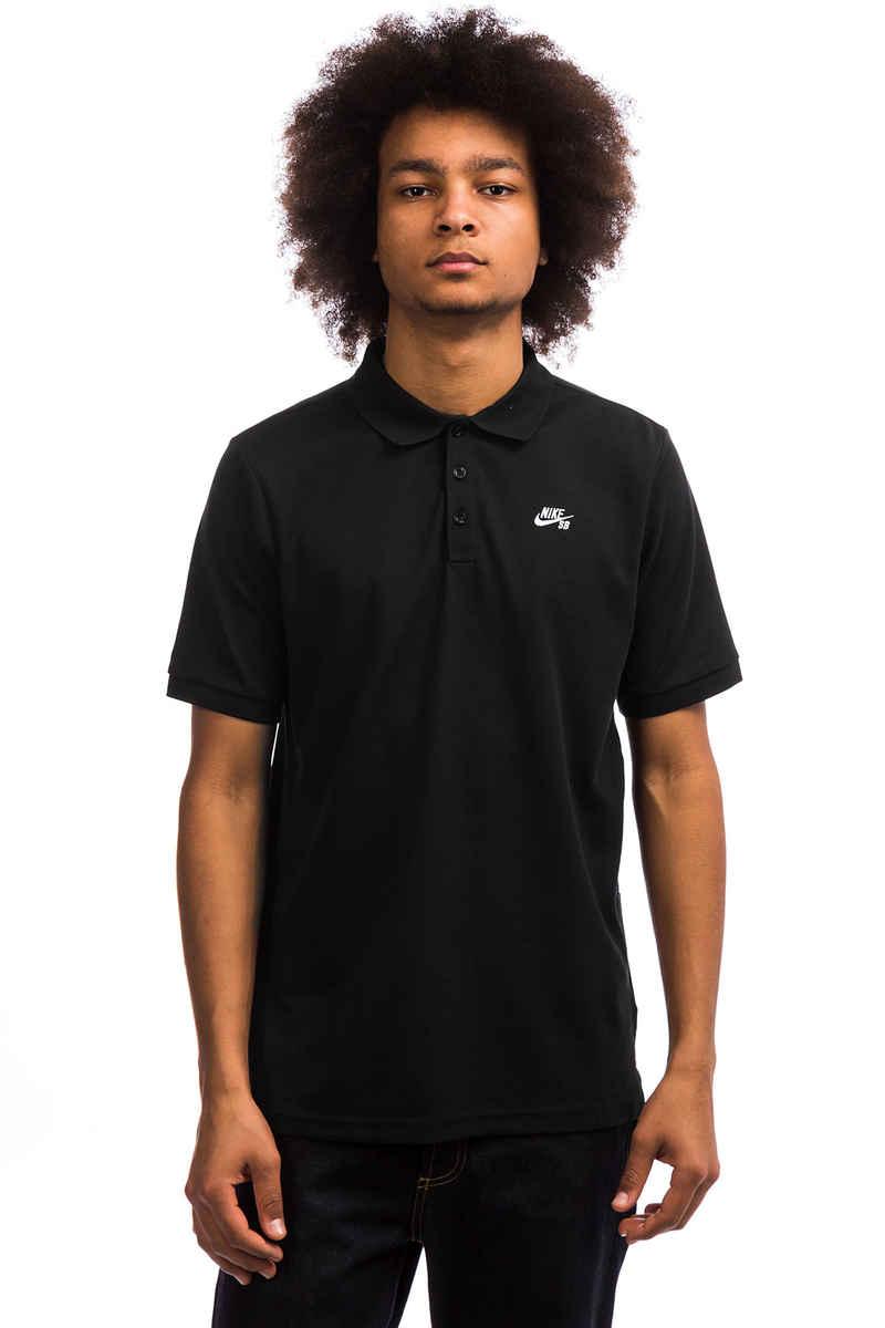 Nike SB Dri-FIT Polos (black white)