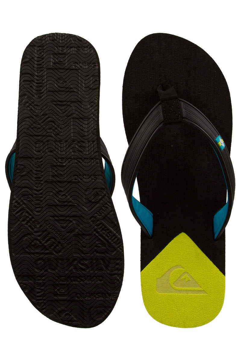 Quiksilver Molokai New Wave Deluxe Slaps (black yellow yellow)