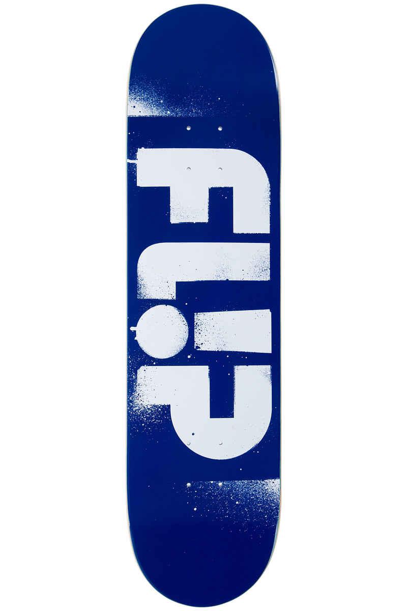 """Flip Team Odyssey Stencil 8"""" Deck (blue white)"""