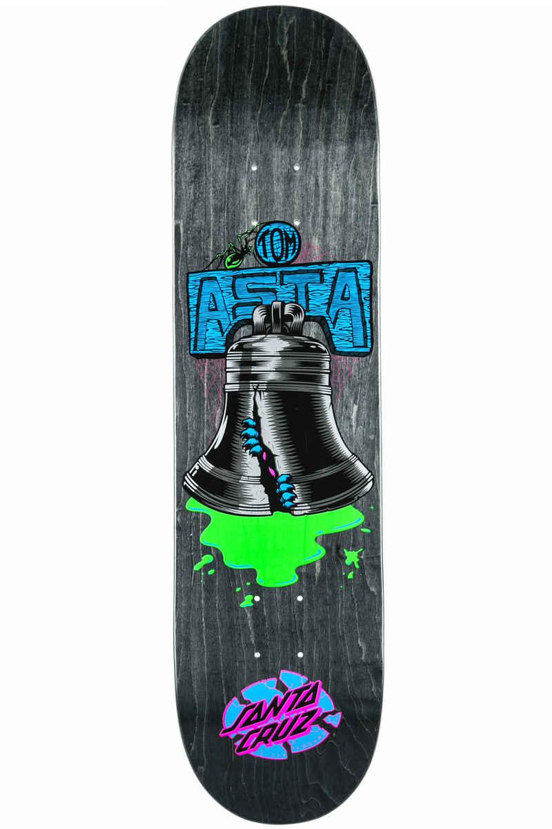 "Santa Cruz Asta Bell 8"" Deck (black)"