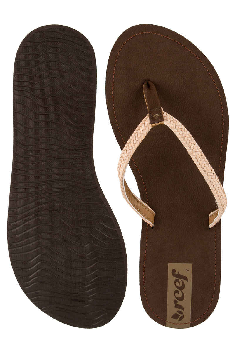 Reef Downtown Truss Teenslippers women (brown)