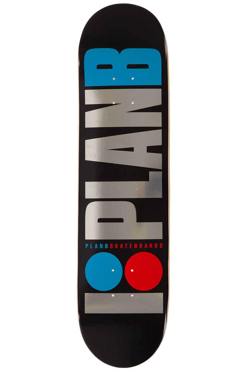"""Plan B Team OG Foil 8"""" Planche Skate"""