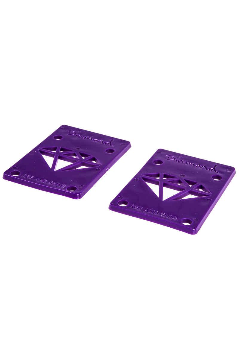 "Diamond 1/8"" Basic Riser Pads (purple) 2 Pack"