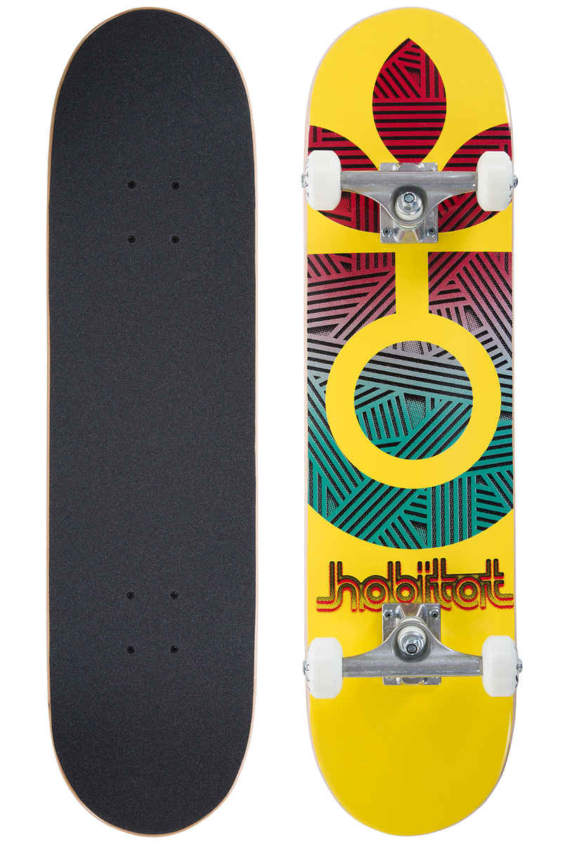 "Habitat Interlaced 7.75"" Komplettboard (yellow)"