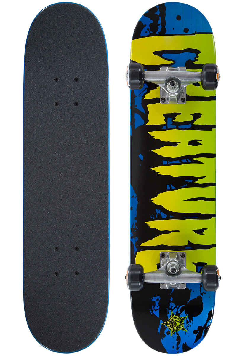 "Creature Stained Mini 7"" Complete-Skateboard kids (blue)"