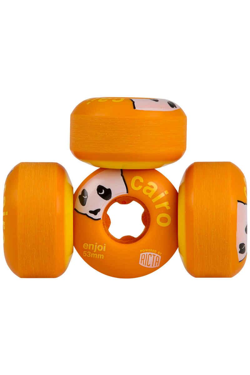 Ricta x Enjoi Cairo Slix 53mm Wiel (orange) 4 Pack