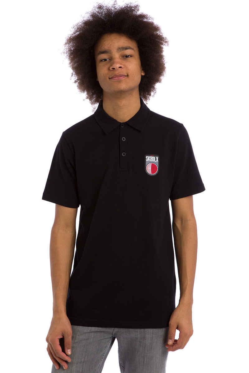 SK8DLX Soccer Polos (black)