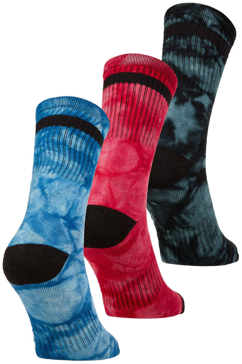 Globe All Tied Up Calcetines US 7-11 (assorted) Pack de 3