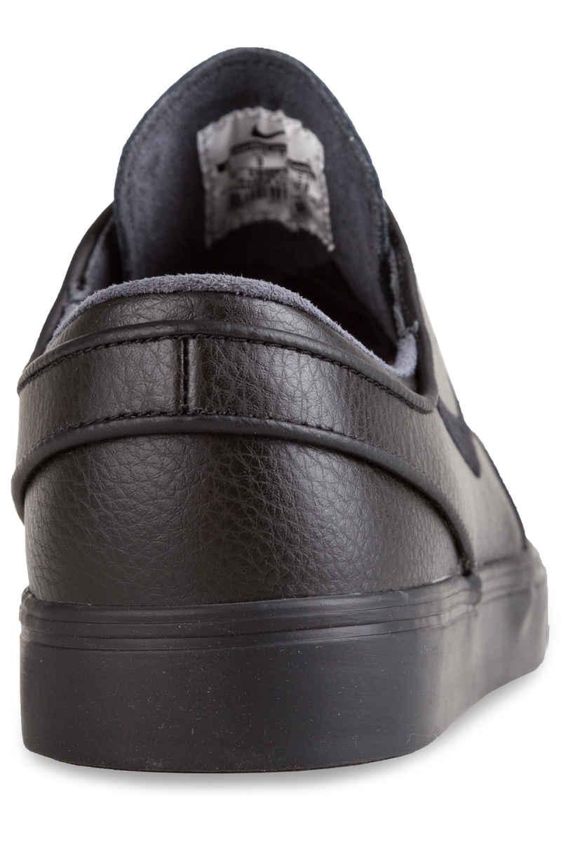 Nike SB Zoom Stefan Janoski Leather Zapatilla (black black black)