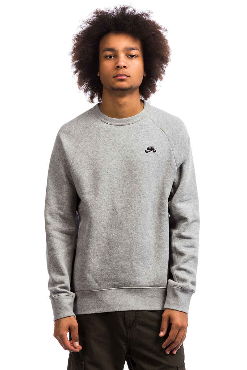 Nike SB Icon Fleece Sweatshirt (dark grey heather)