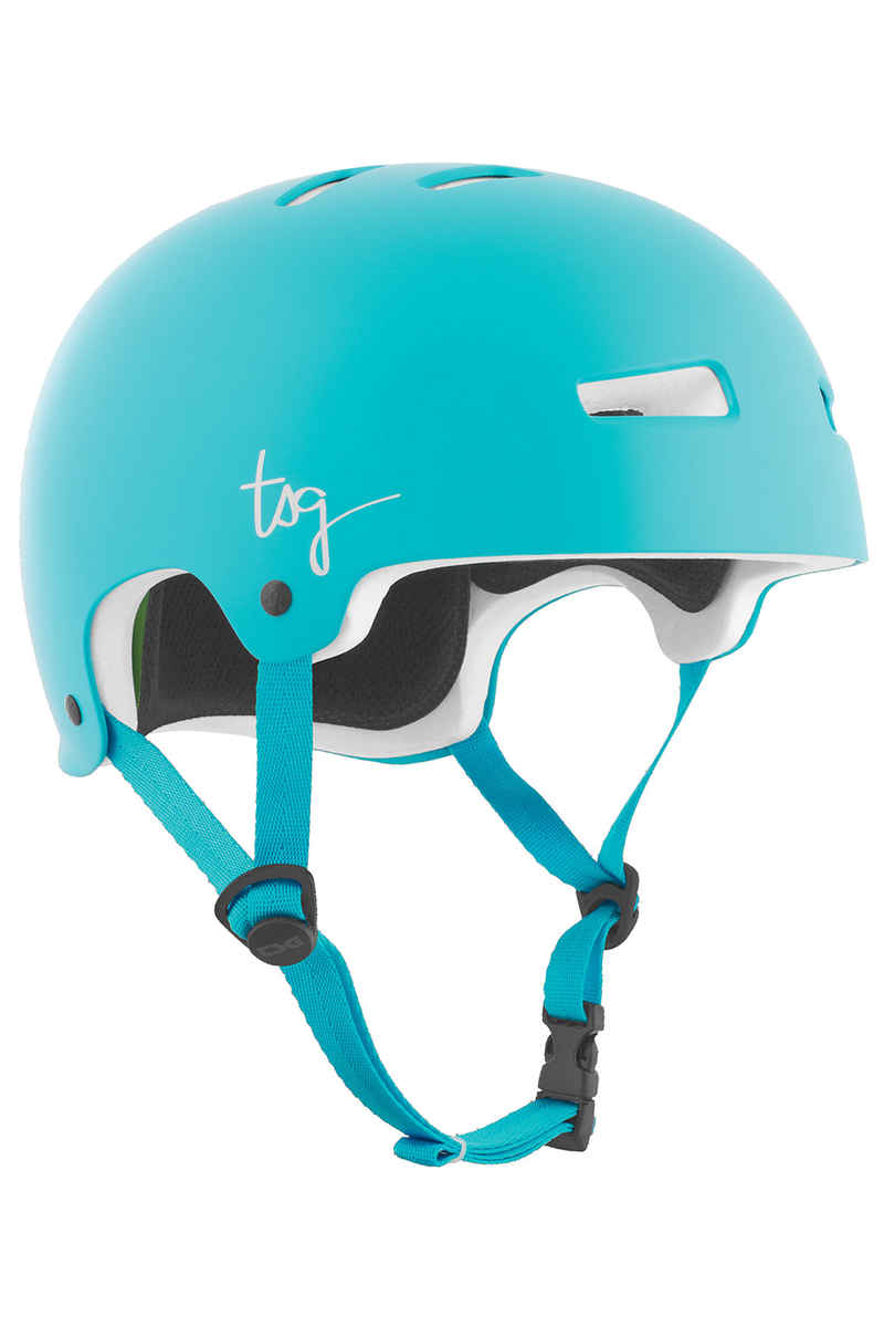 TSG Evolution-Solid-Colors Casque women (satin crystal blue)