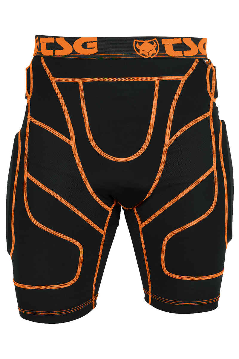 TSG Crash D30 Protektorhose (black orange)