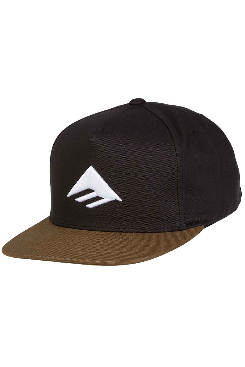 Emerica Triangle Snapback Gorra (black brown)