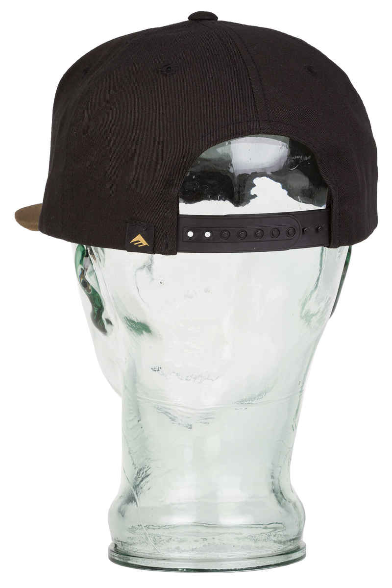 Emerica Triangle Snapback Cap (black brown)