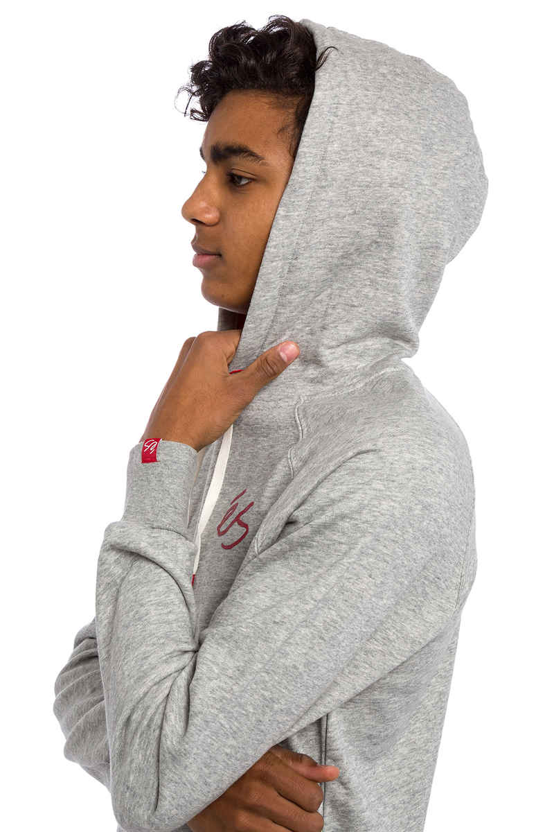 éS Script Hoodie (grey heather)