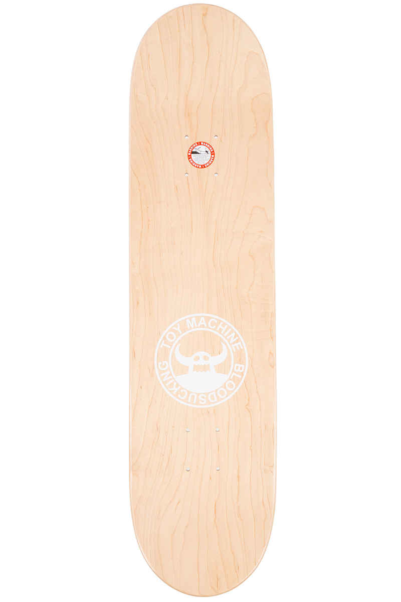 "Toy Machine Sect Eye Crossed Out 8"" Planche Skate (dark grey)"