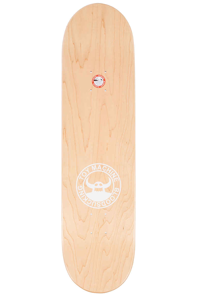 """Toy Machine Sect Eye Toothless 8.25"""" Planche Skate (blue)"""