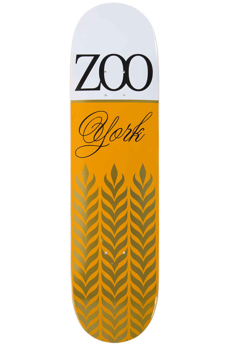 "Zoo York Zoo Royal 8.125"" Deck (white orange)"