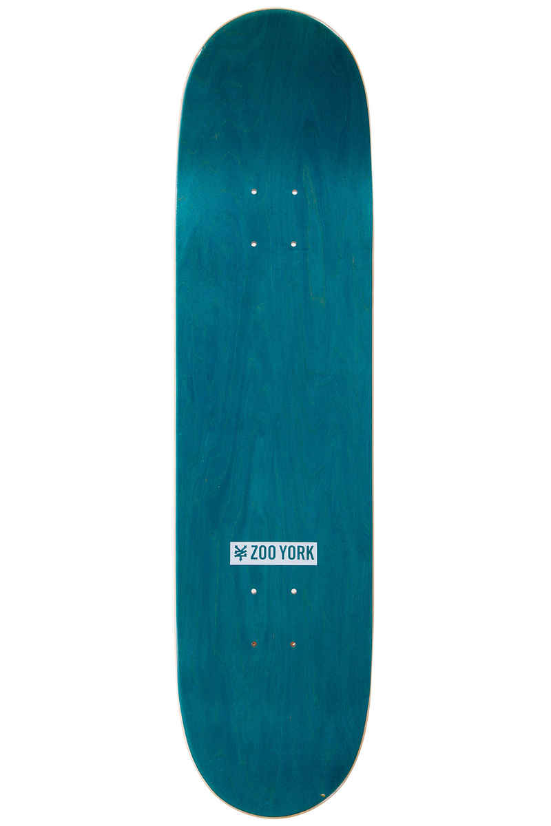 "Zoo York Zoo Royal 8.125"" Planche Skate (white orange)"