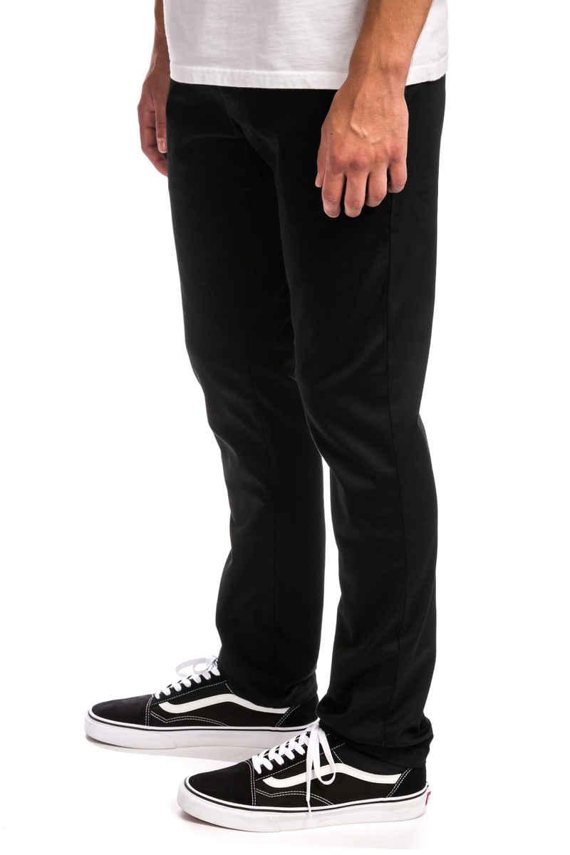 Volcom Frickin Skinny Chino Hose (black)