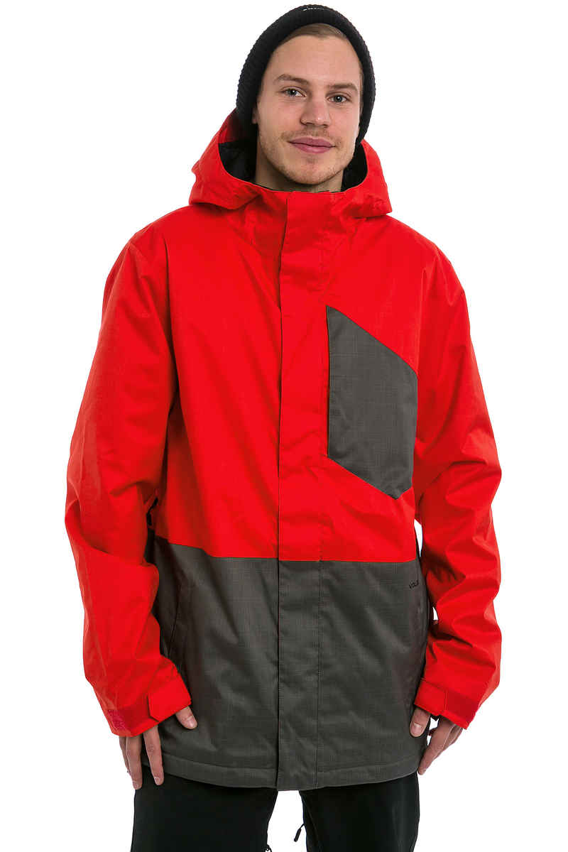 Volcom Retrospec Insulated Snowboard Jacket (charcoal)