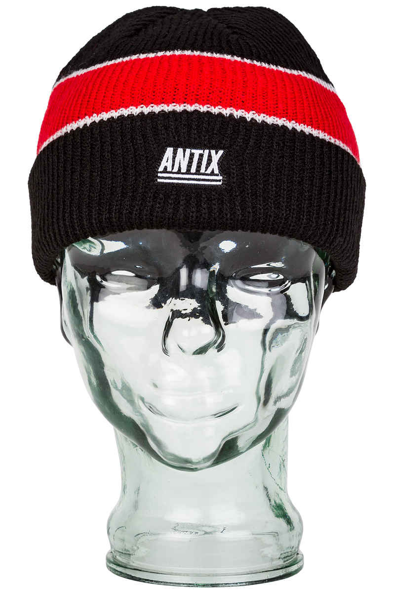 Antix Nostra Mütze (black red white)