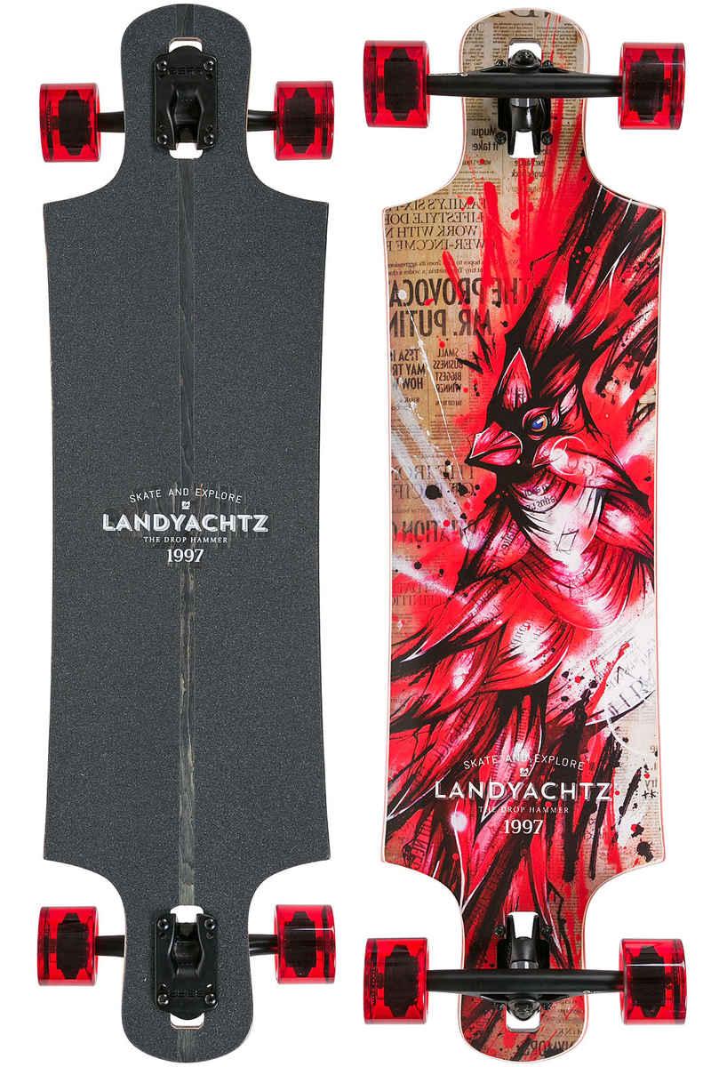 "Landyachtz Maple Drop Hammer 36.5"" (93cm) Komplett-Longboard (cardinal)"