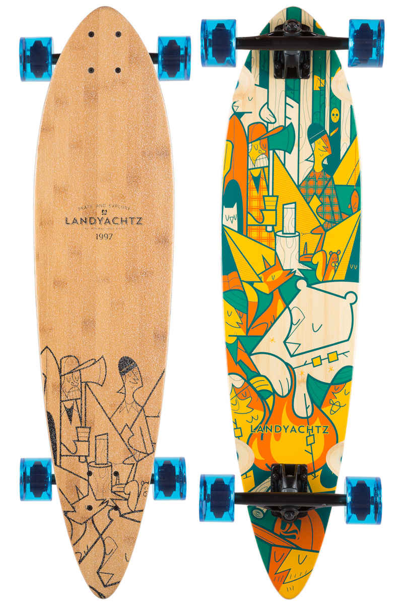 "Landyachtz Bamboo Chief Camping 36"" (91cm) Longboard-Complète"