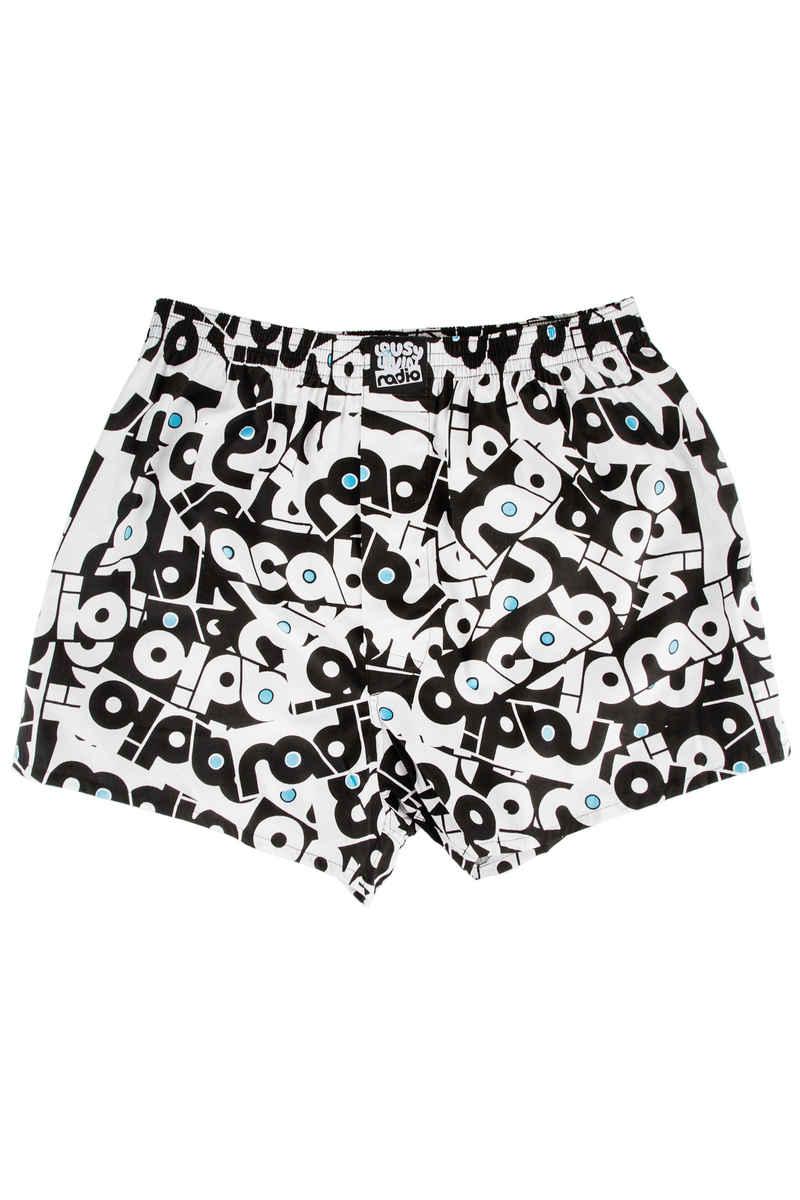 Lousy Livin Underwear x Radio 2 Boxershorts (white)