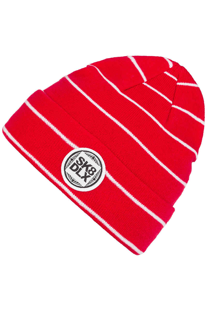 SK8DLX Stripesport Mütze (red white)