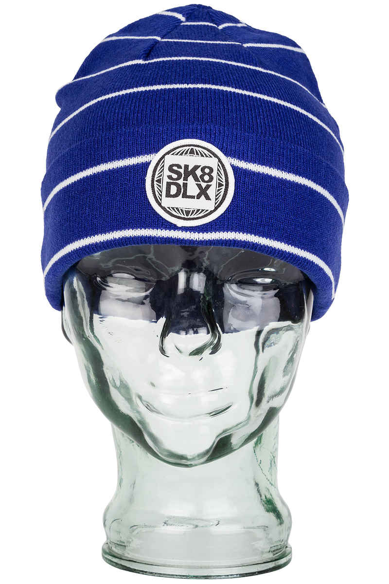 SK8DLX Stripesport Mütze (royal white)