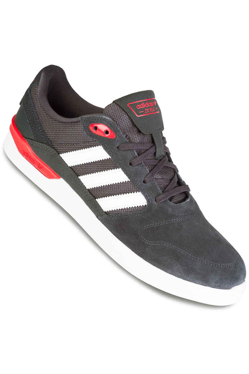 ed618759e22 adidas ZX Vulc Shoe (solid grey scarlet) buy at skatedeluxe