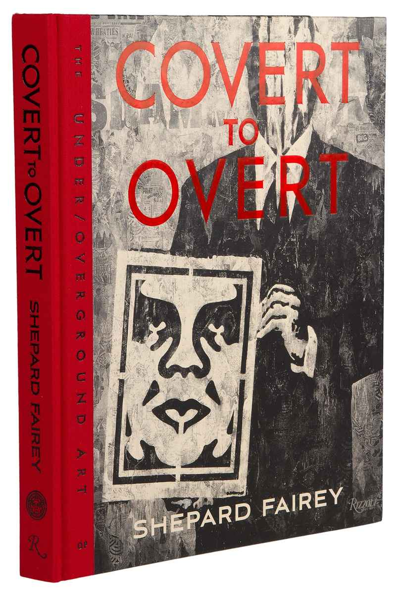 Obey Covert To Overt Boek (assorted)