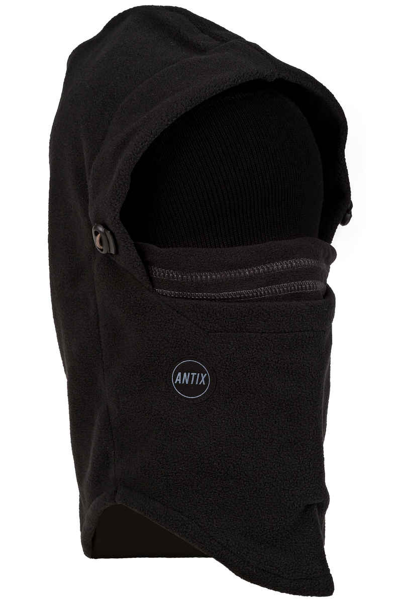 Antix Fleece Hood Sjaal (black)