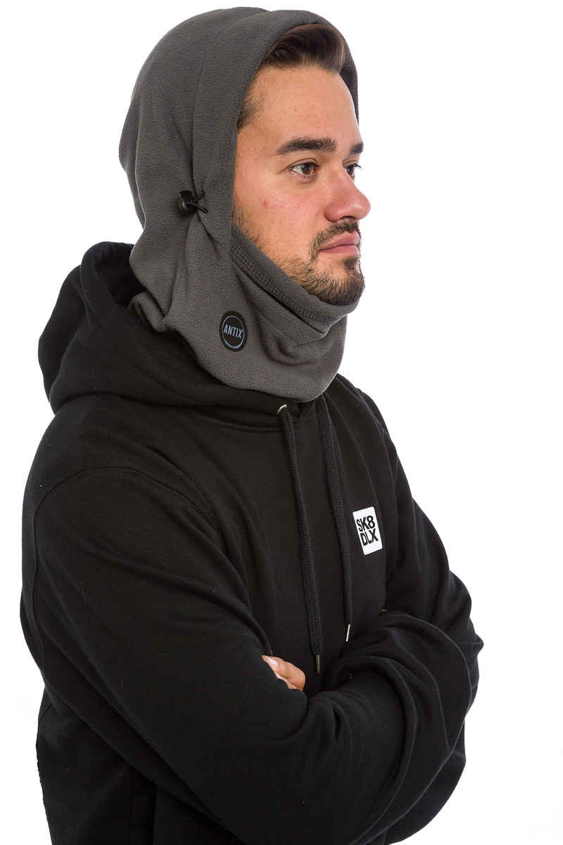 Antix Fleece Hood Sjaal (grey)