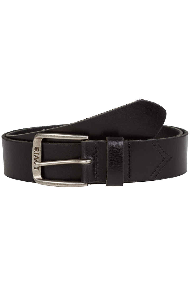 Levi's Classic Top Logo Buckle Belt (regular black)
