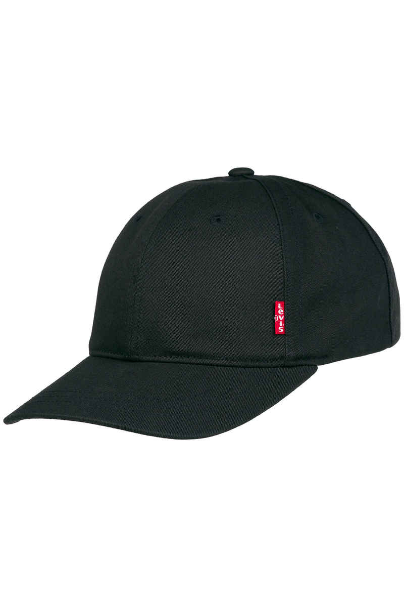 Levi's Classic Twill Red Tab Baseball Cap (regular black)