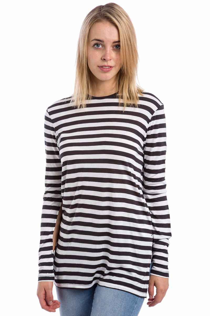 Cheap Monday Road Cage Stripe Camiseta de manga larga women (white)
