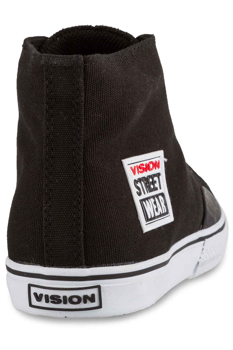 Vision Streetwear Canvas Hi 22 Shoes (black white)