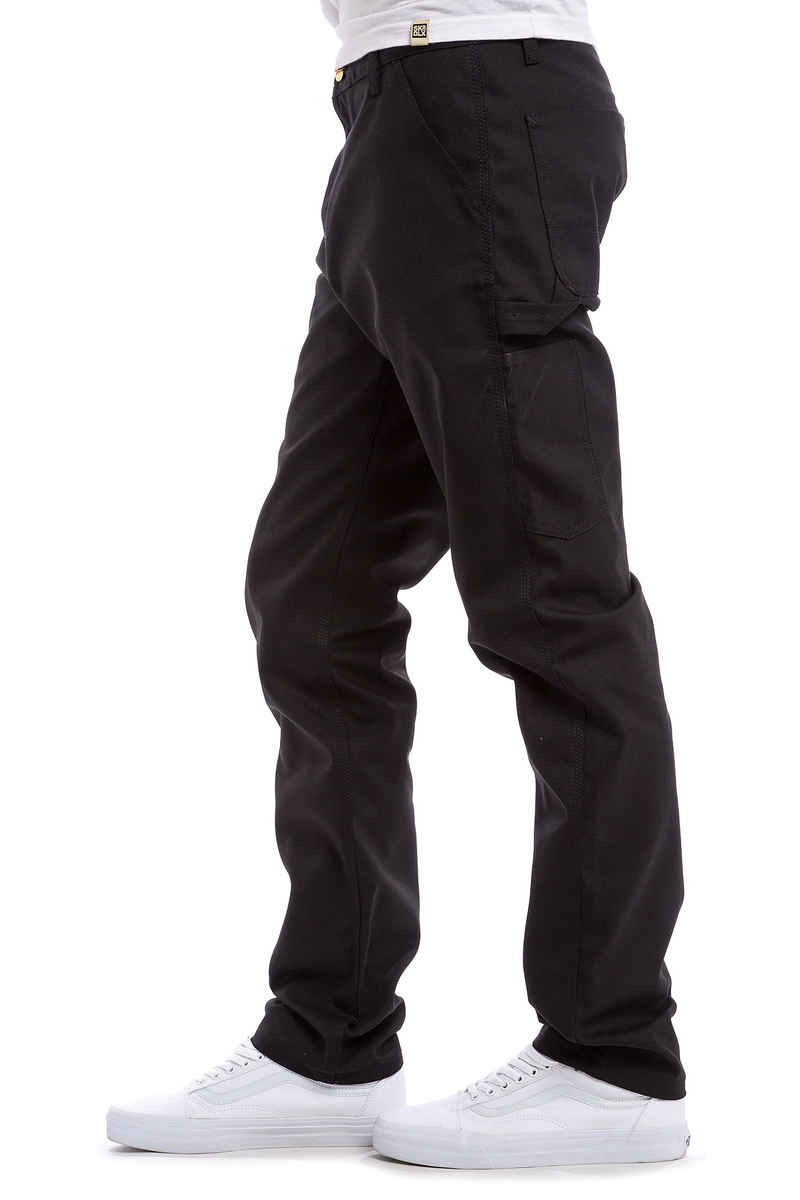 Carhartt WIP Ruck Single Knee Pant Patterson Broeken (black rigid)