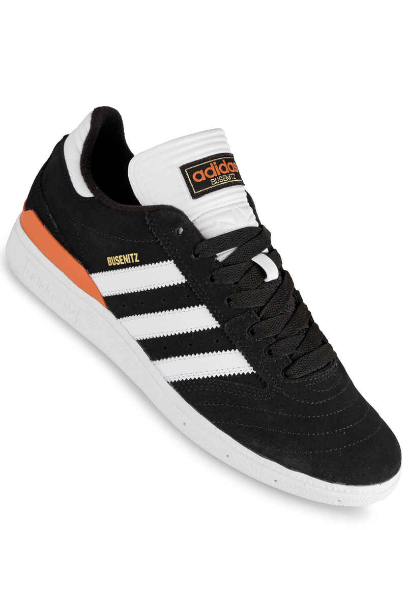 adidas Skateboarding Busenitz Shoes (black white orange)