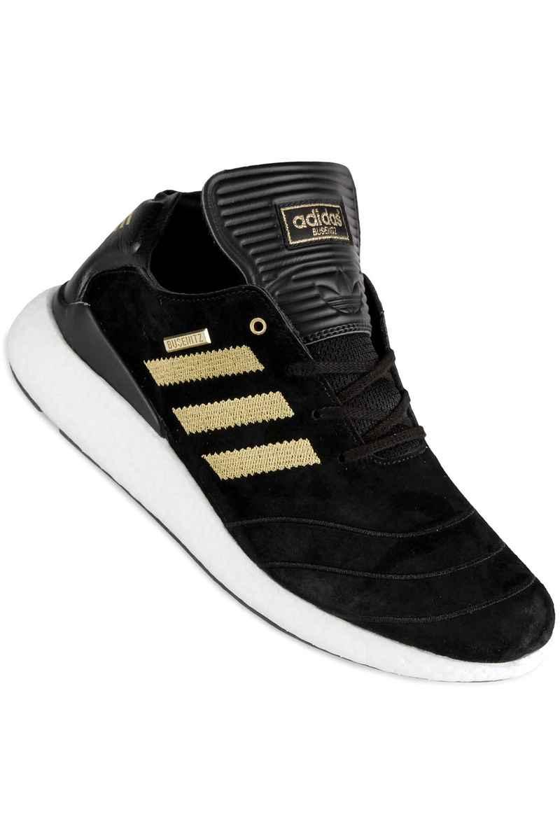 super popular 9bd81 9a8c8 adidas Skateboarding Busenitz 10 YR Pure Boost Shoe (black gold white)