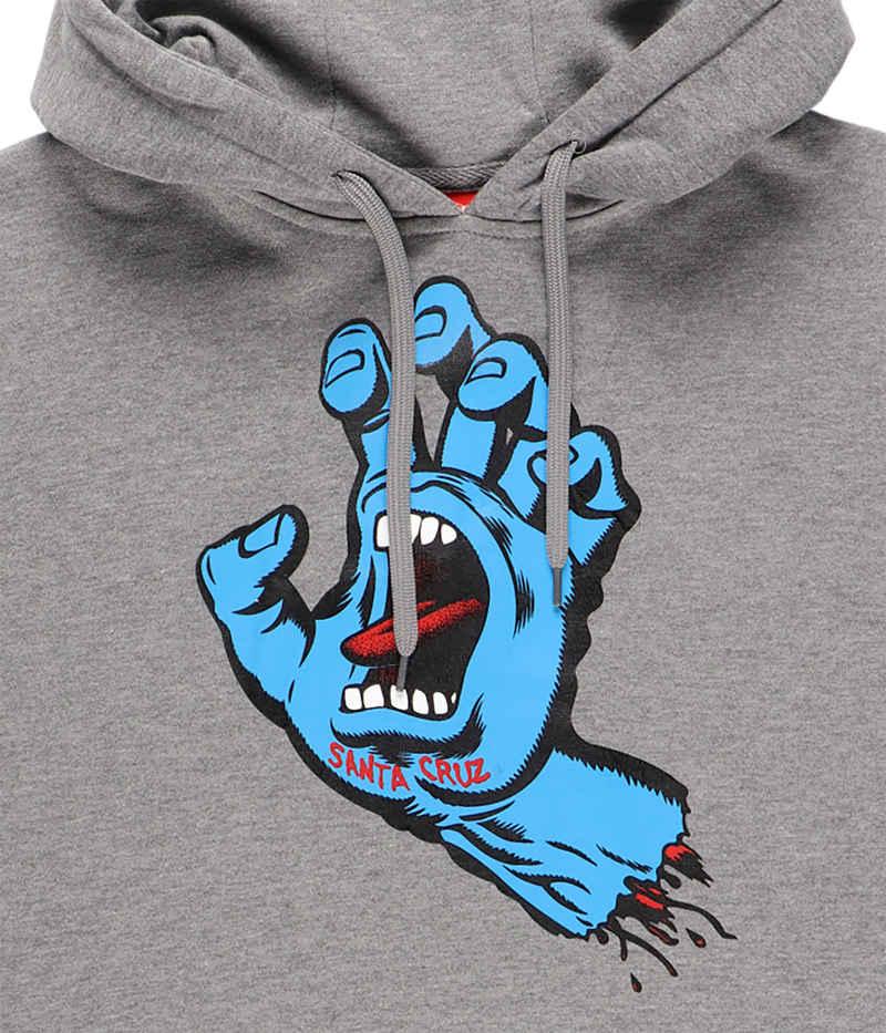 Santa Cruz Screaming Hand Hoodie (dark heather)