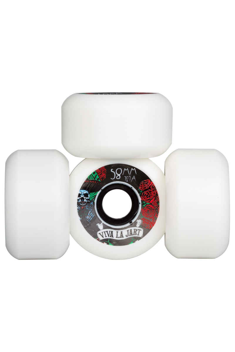 Jart Skateboards Bondi Mexican Roue (white) 58mm 101A 4 Pack