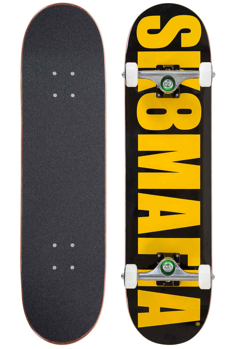 "Sk8Mafia OG Killa Beez 7.875"" Tabla-completa (black yellow)"