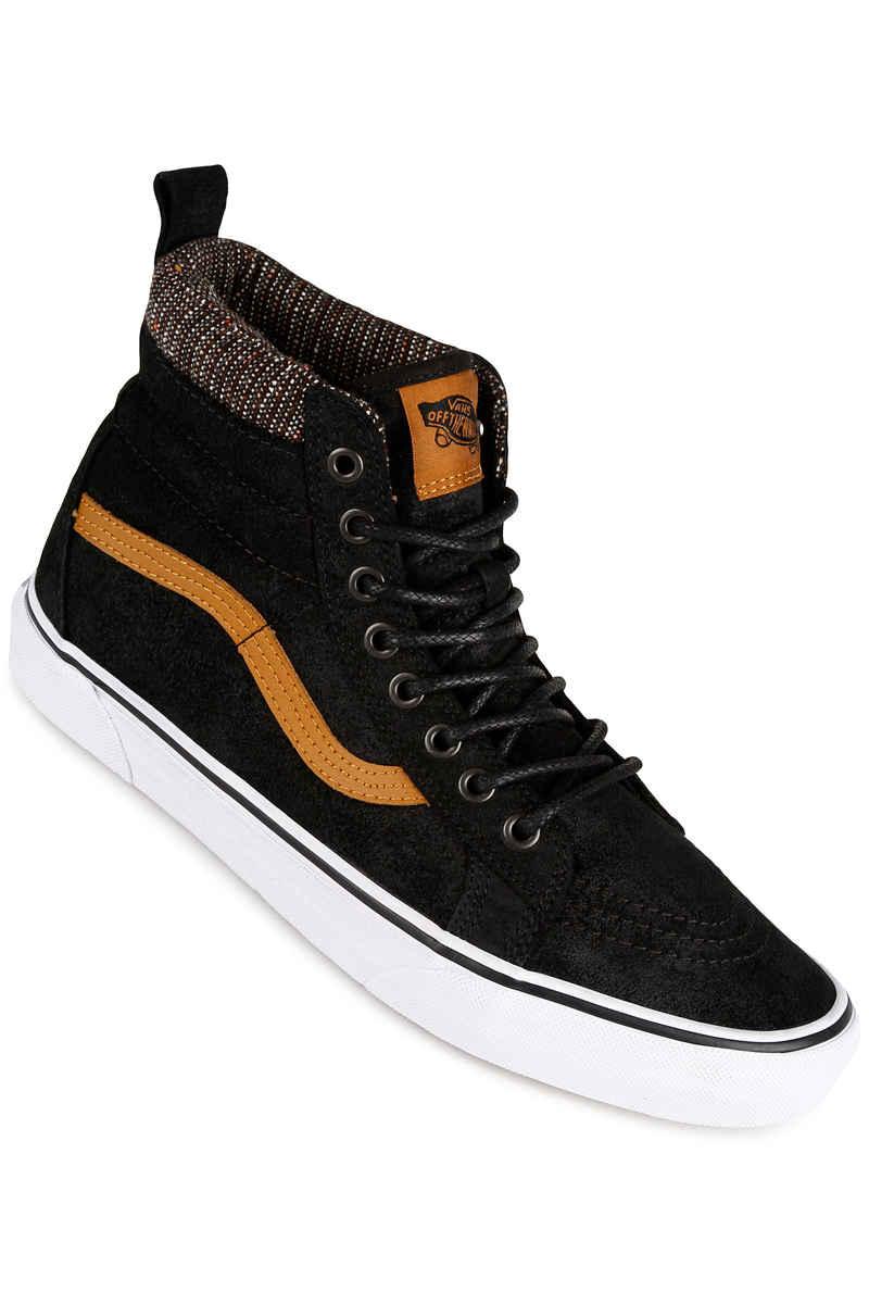 01fce3549c91fb Vans Sk8-Hi MTE Shoe (black tweed) buy at skatedeluxe